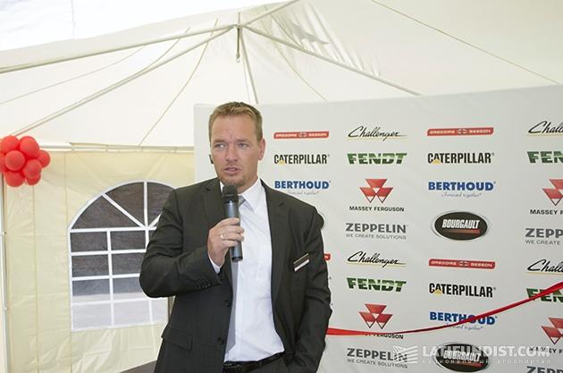 Хайко Крайзель, директор украинского представительства компании «Цеппелин Украина»