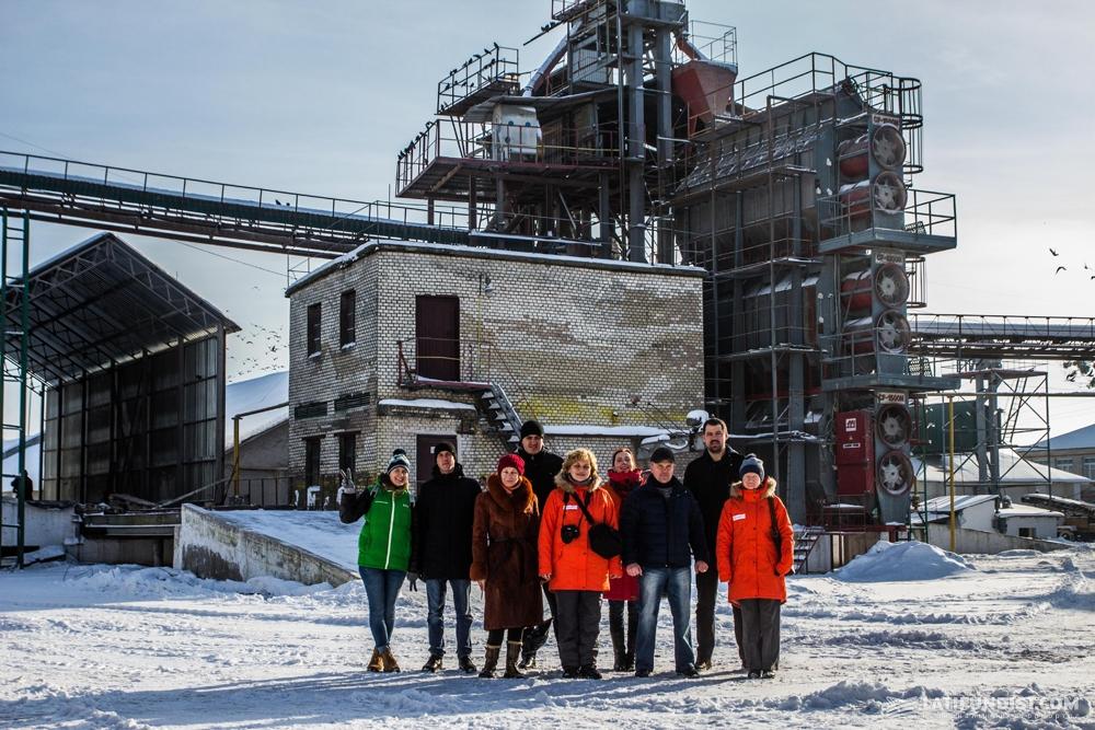 АгроЭкспедиторы на элеваторе Славутского отделения семенного завода «Лотовка-Элит», входящего в структуру корпорации «Сварог Вест Груп»