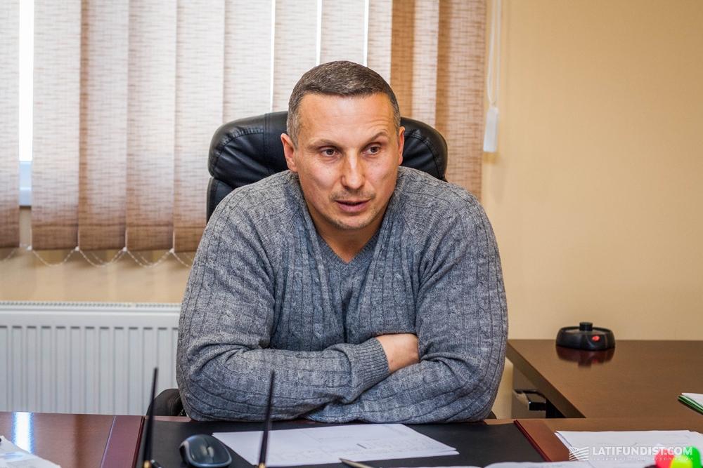 Андрей Груша, директор комплекса «Шаровское»