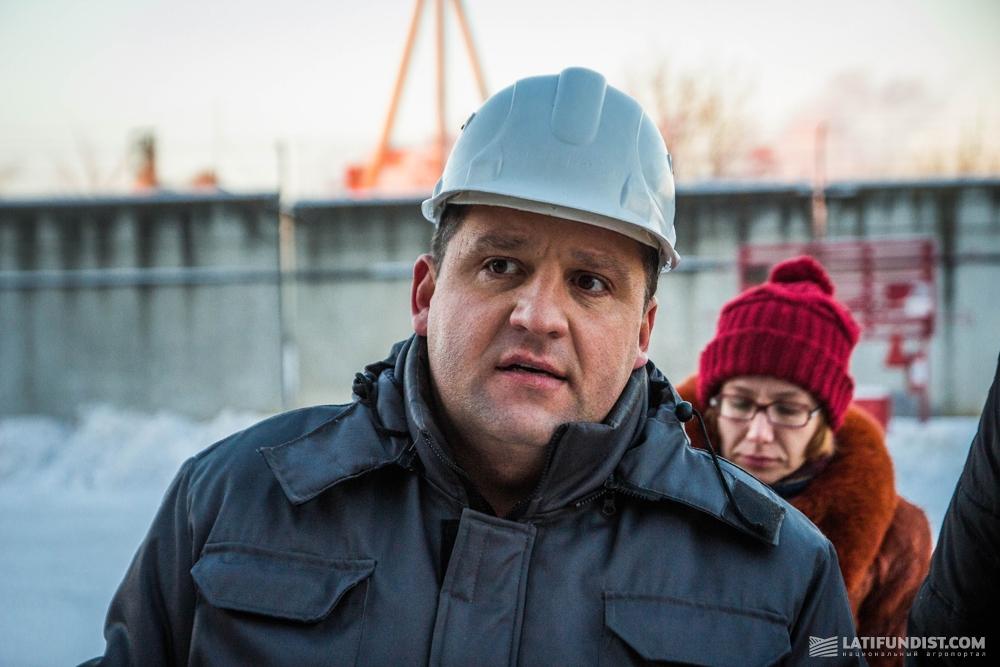 Александр Семенюк, директор Кировградского участка Полтавского ХПП