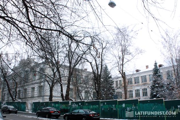 Здание в сердце Киева