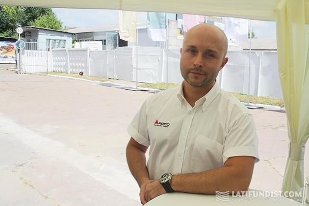 Алексей Копылов, менеджер по развитию бизнеса корпорации AGCO