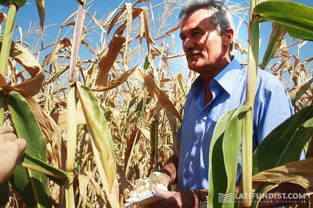 Николай Булатецкий, основатель фермерского хозяйства «Стукаливское» (Полтавская область)