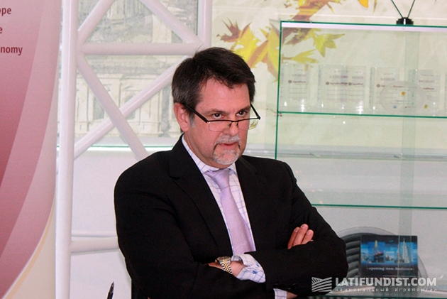 Председатель совета директоров компании AgroGeneration Джон Шморгун
