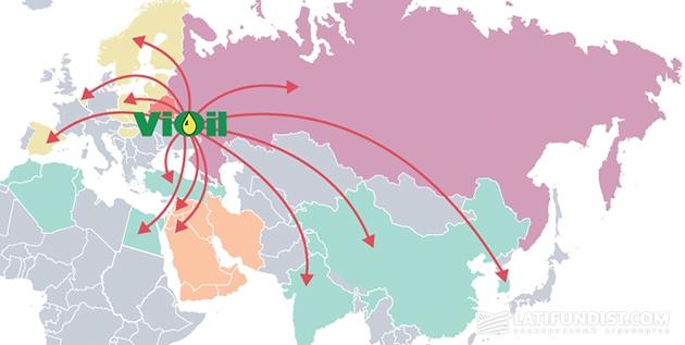 Карта экспорта продукции