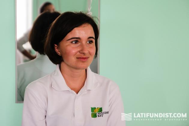 Кристина Кудлык, руководитель отдела продажи семян «Западный Буг»