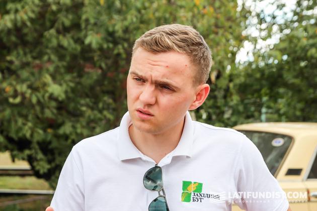 Владимир Крупак, агроном-семеновод компании «Западный Буг»