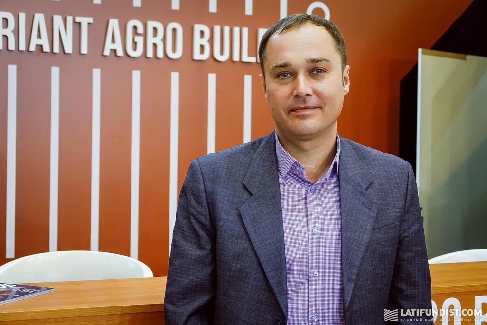 Алексей Киба, руководитель Киевского регионального представительства компании «Вариант Агро Строй»