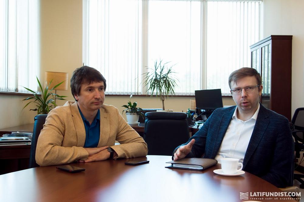 Алексей Стеценко и Антон Яковенко