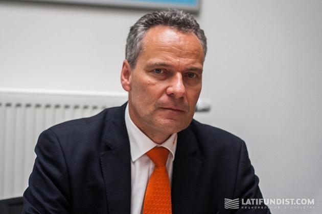 Руководитель отдела сбыта AMAZONE-WERKE Андреас Хемейер