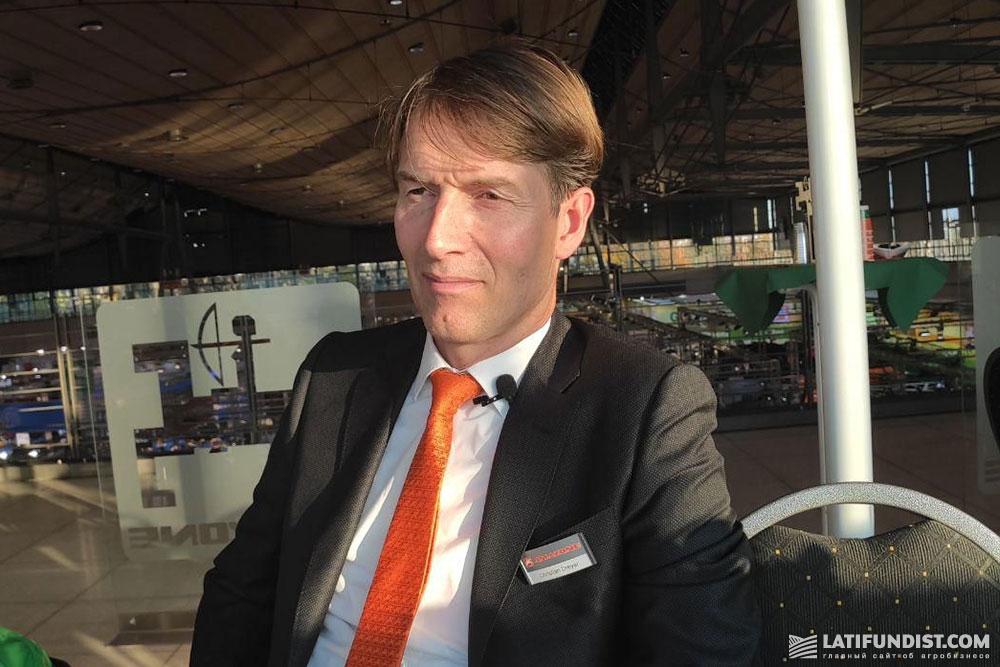 Кристиан Драйер, директор компании Amazone