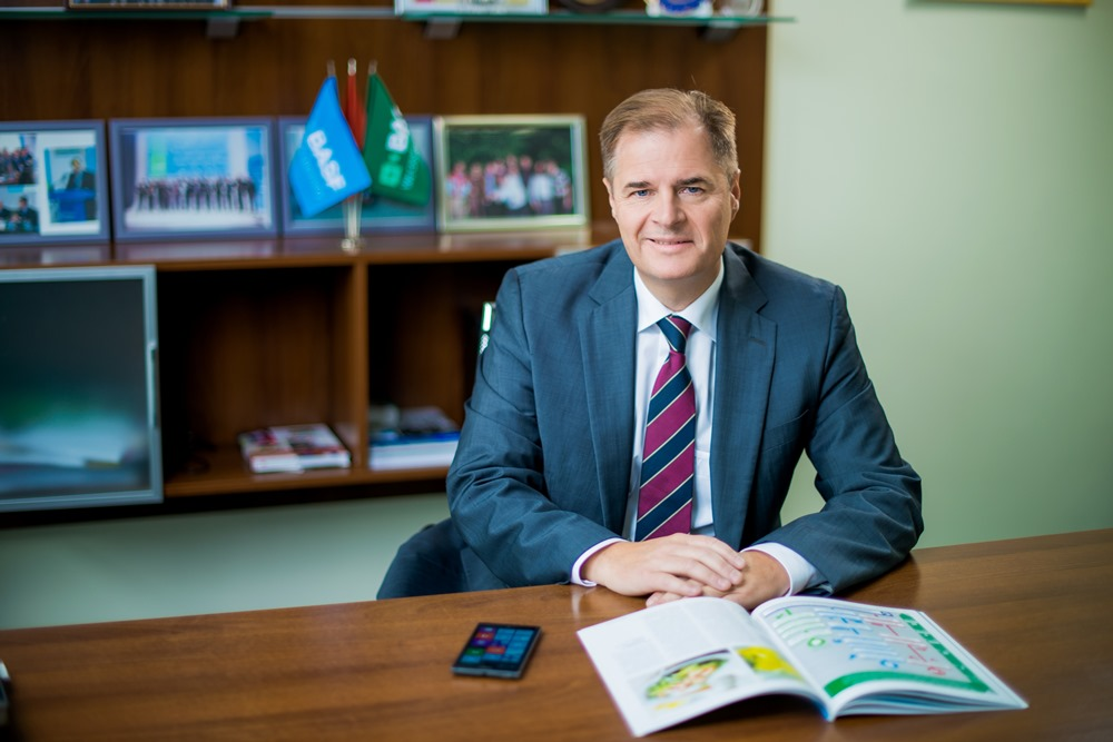 Андреас Лир, генеральный директор BASF, руководитель группы стран Восточной Европы