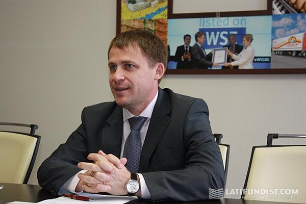 Борис Александрович Беликов, генеральный директор, совладелец группы компаний Ovostar Union