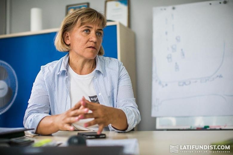 Лариса Бачинская, директор Житомирского кластера холдинга «Агро-Регион»