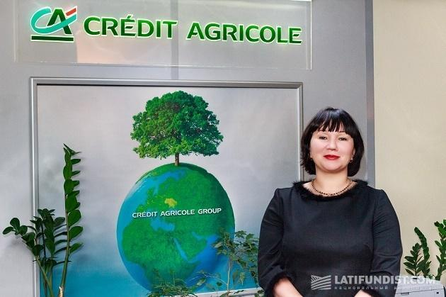 adbfb444bdbb Лариса Бондарева, член правления, директор по корпоративному бизнесу и МСБ  Credit Agricole Bank