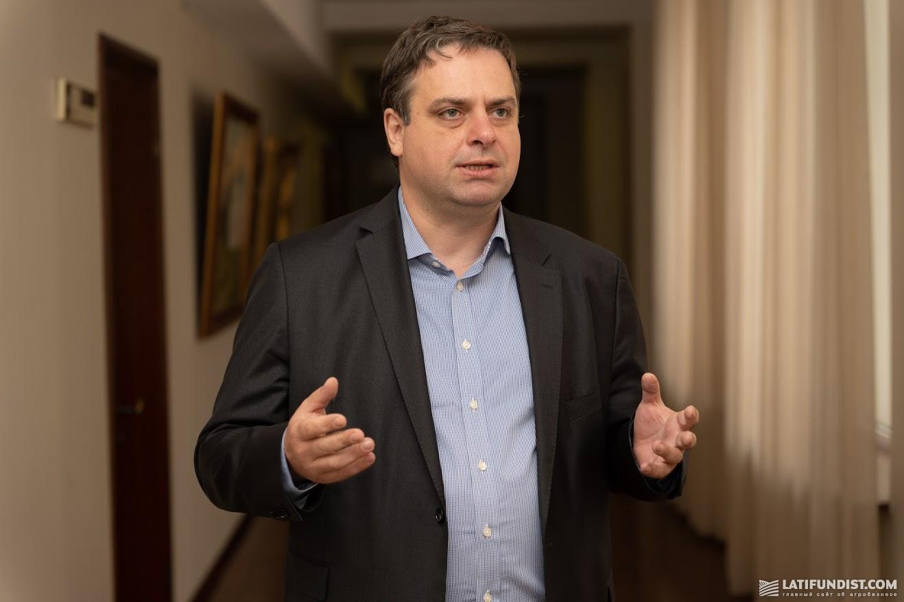 Дмитрий Лось, председатель правления Украинской ассоциации бизнеса и торговли (UBTA).