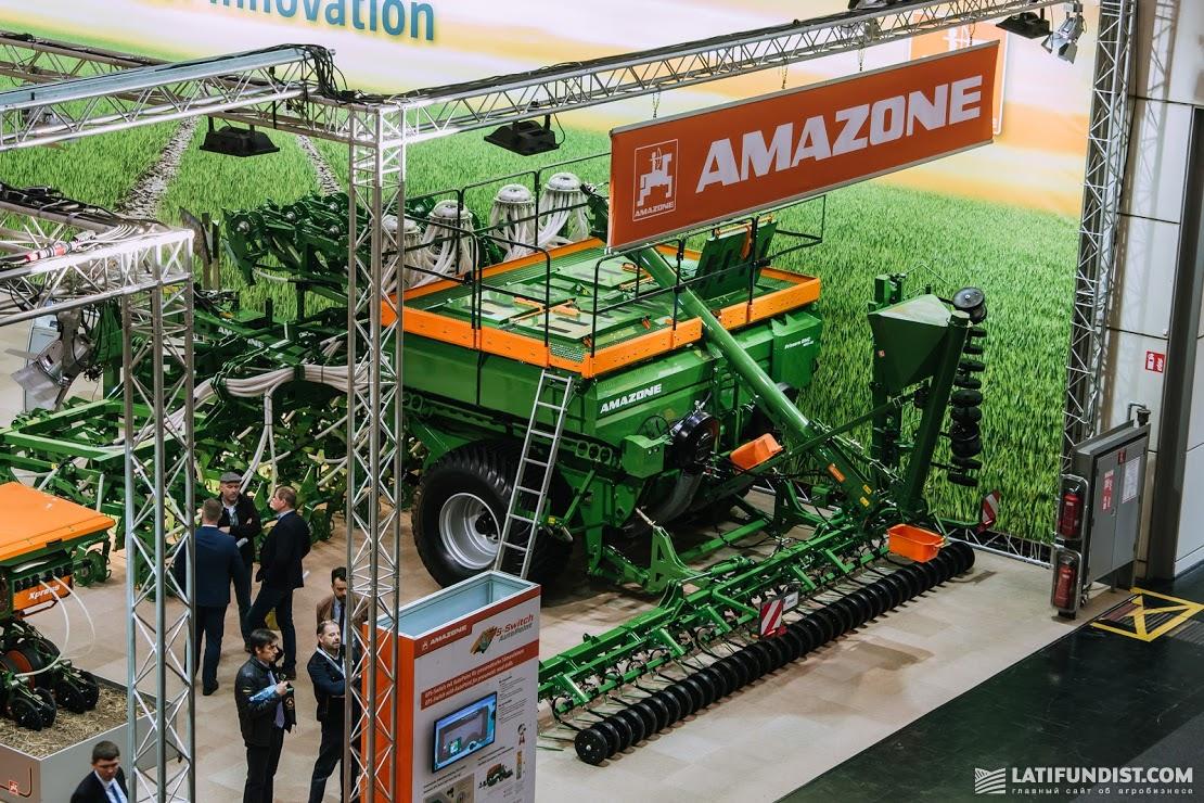 Стенд Amazone на выставке Agritechnica 2019