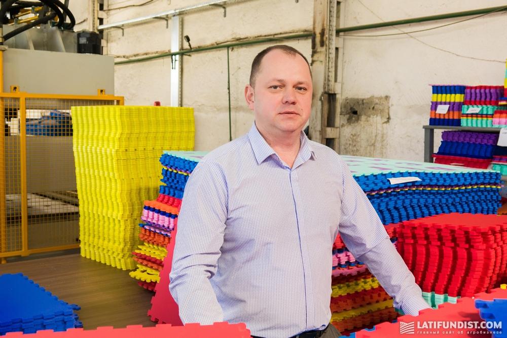 Генеральный директор компании EvaLine Анатолий Кравченко