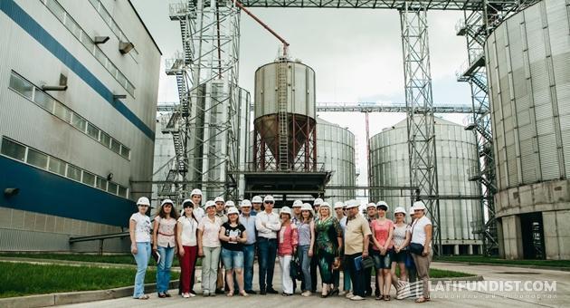 Пресс-тур по Глобинскому кластеру агропромхолдинга «Астарта-Киев»