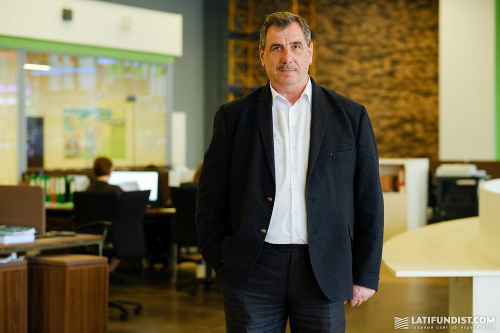 Владимир Фантух, руководитель департамента по вопросам инноваций и развития агробизнеса Ukrlandfarming