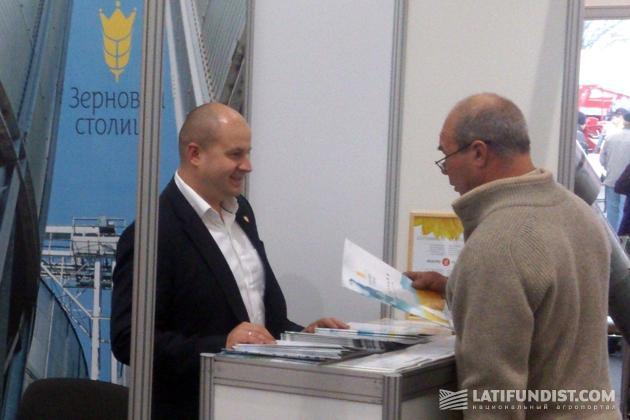 Виталий Галич, начальник коммерческого департамента ГП «Зерновая Столица»