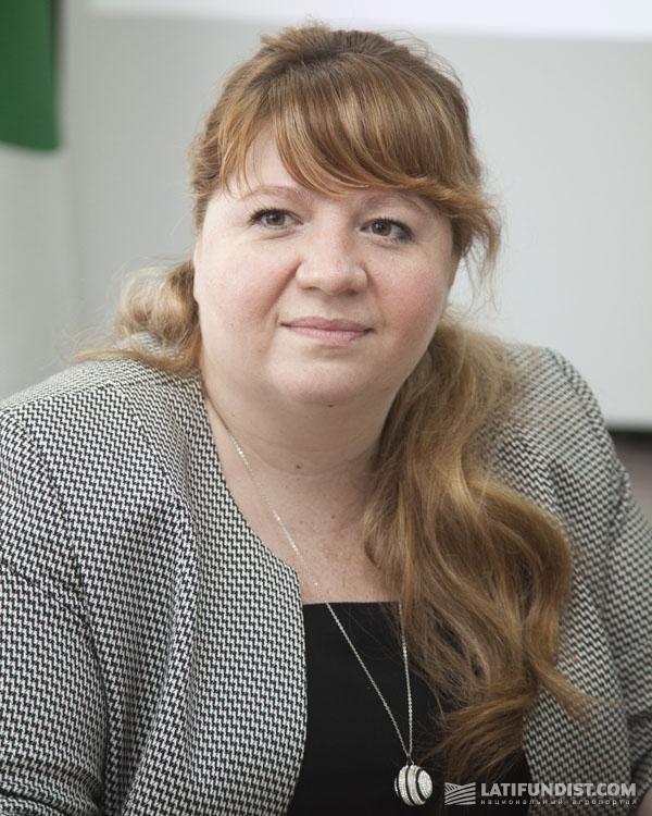 Галина Василик, операционный директор агрохолдинга UkrLandFarming