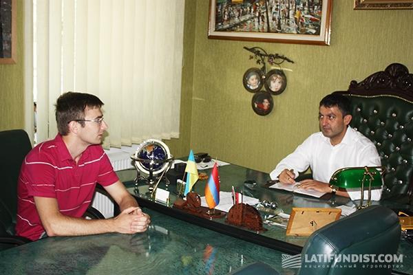 Рафаэль Гороян, руководитель группы компаний «Прометей»
