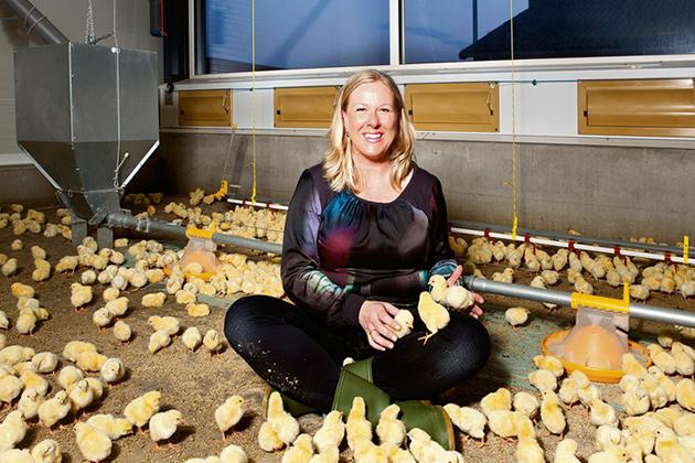 Председатель Голландской Ассоциации Птицеводов (ГАП) Хенни де Хаан