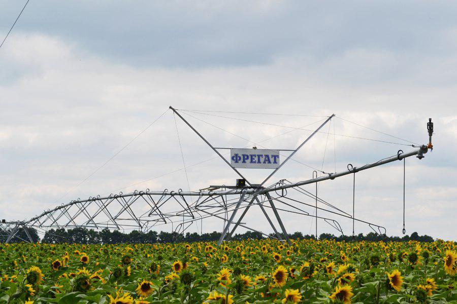 Оросительная система производства завода «Фрегат»