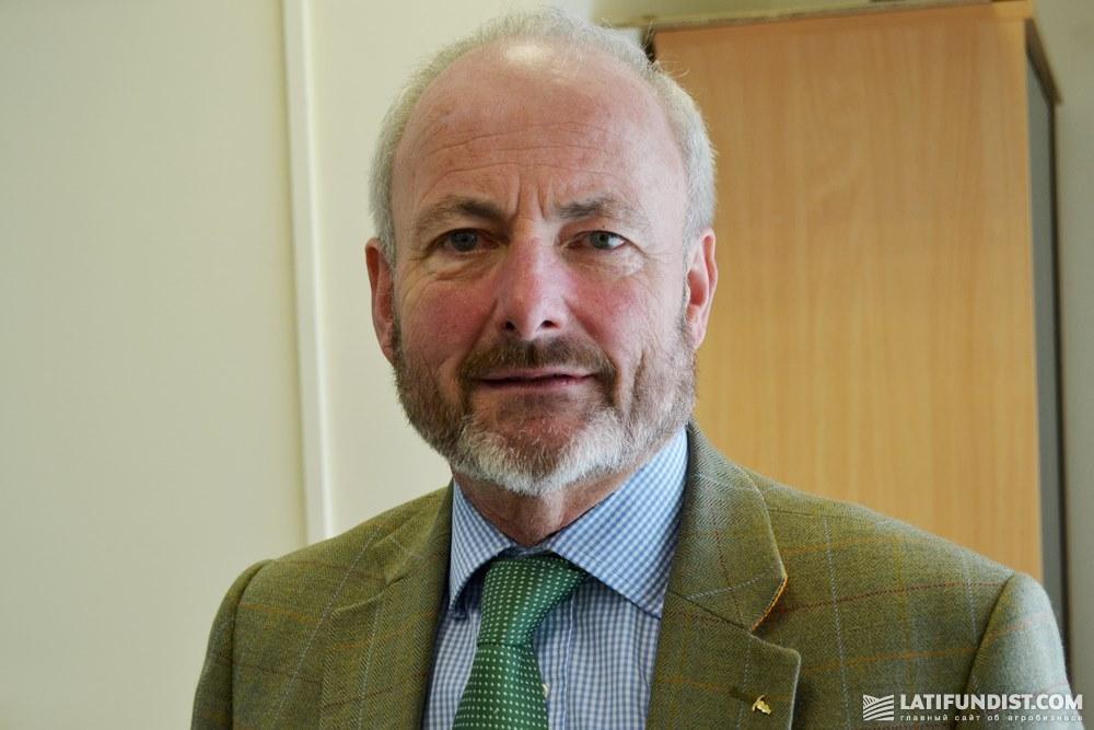 Роберт Виллей, управляющий директор компании Househam Sprayers
