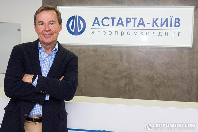Говард Дал, председатель совета директоров агропромхолдинга «Астарта-Киев»