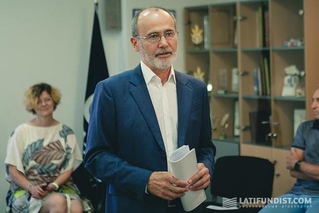 Выступление генерального директора агропромохолдинга «Астарта-Киев» Виктора Иванчика