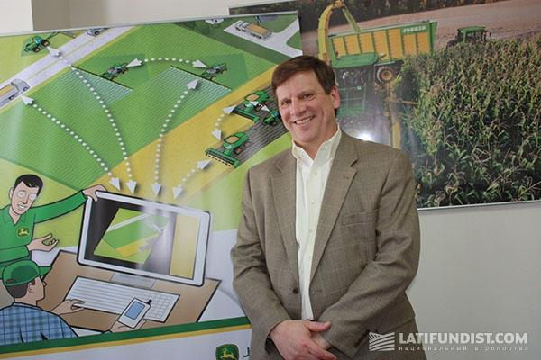 Джерри Роелл, директор направления FarmSight компании John Deere