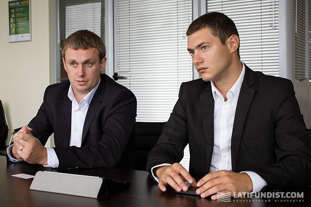 Дмитрий Калашников и Сергей Гопкало