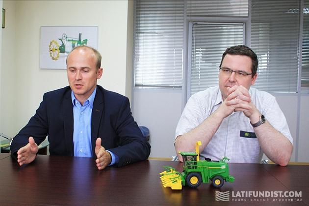 Петер Заксе и Карстен Хефтриг