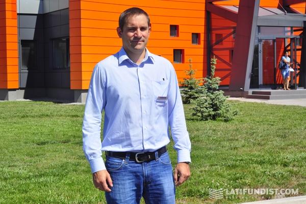Франсуа-Оливье Кайо, генеральный директор Maїsadour Semences в Украине