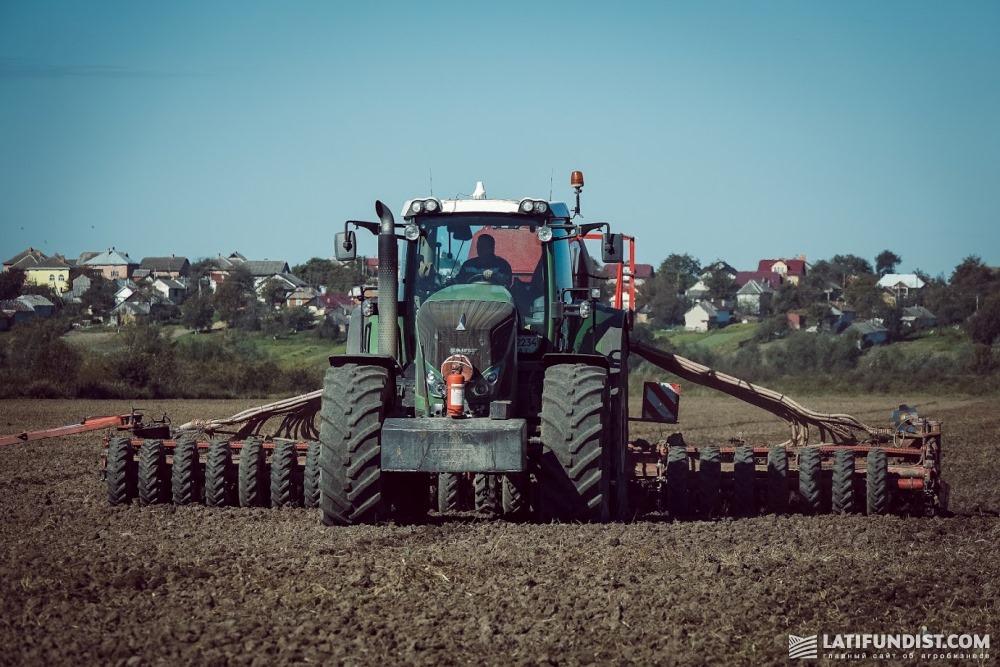 Трактор Fendt компании «Захид-Агро МХП»