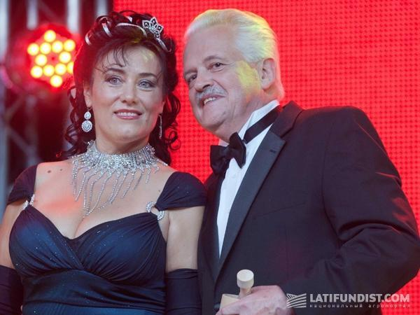 Юрий Логуш с супругой Татьяной
