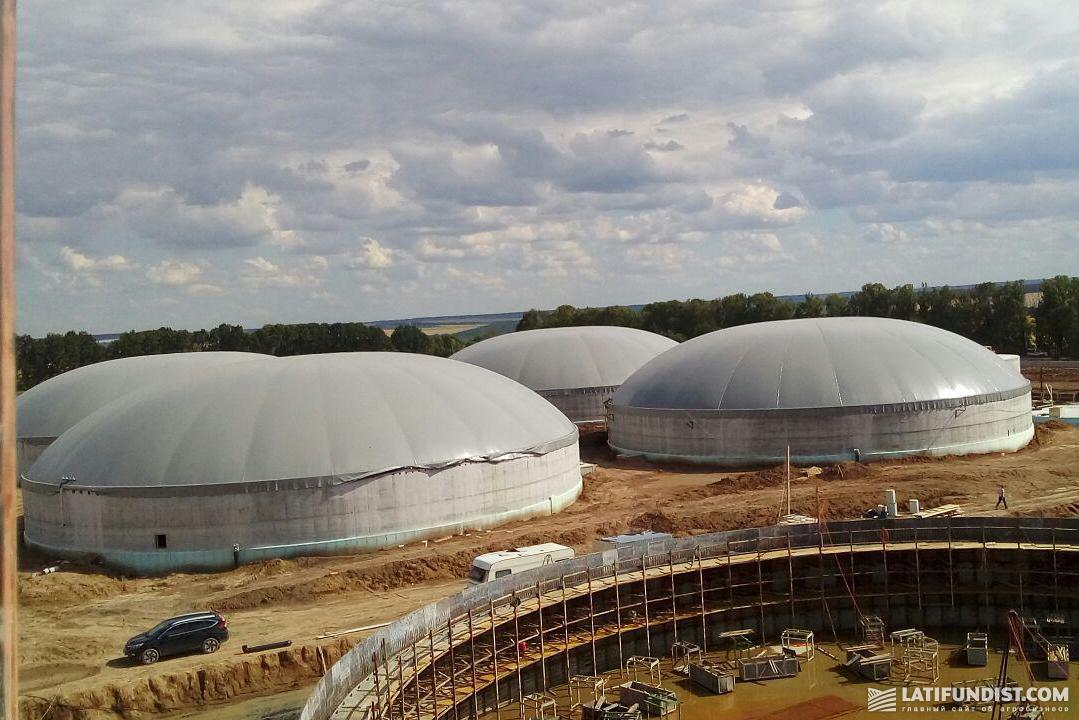 Биогазовый комплекс в Ладыжине