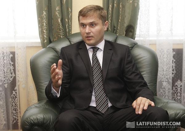 Александр Марюхнич, руководитель Аграрной биржи