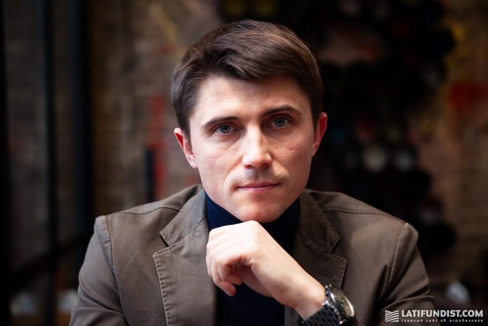 Александр Мащенко, основатель проекта Zernovoz.ua