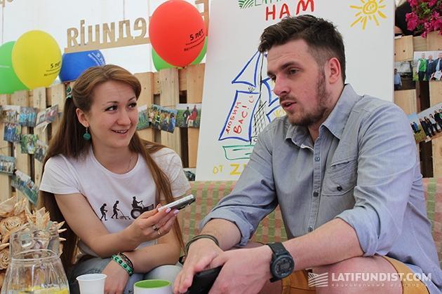 Дмитрий Михальчук общается с корреспондентом Latifundist.com