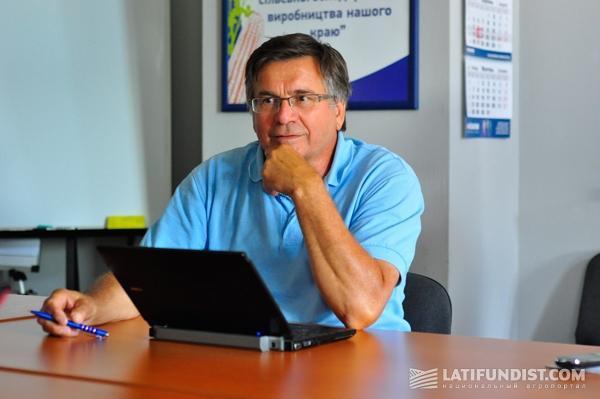 Жоэль Мьонье, директор по развитию бизнеса Maїsadour Semences