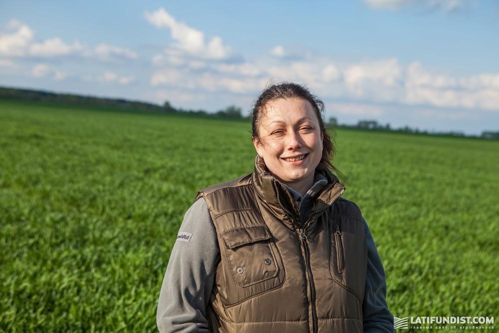 Екатерина Мороз, руководитель Черниговского кластера компании «Агро-Регион»