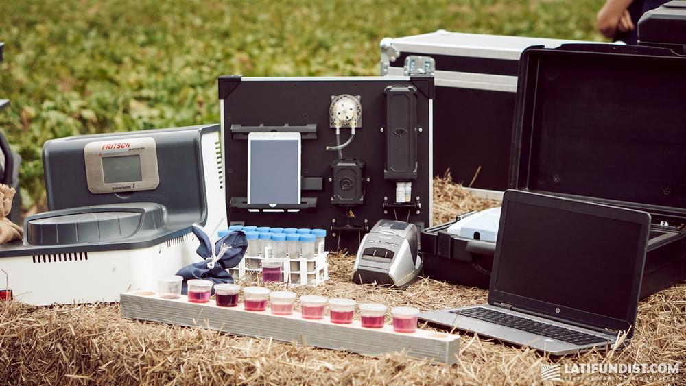 Мобильная лаборатория для проведения анализа почв