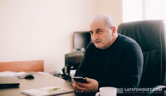 Эльман Оруджов, заместитель руководителя департамента сельскохозяйственного производства по животноводству агропромхолдинга «Астарта-Киев»