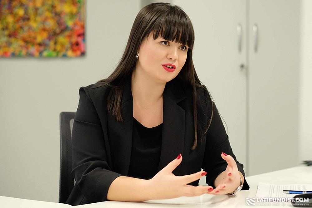 Наталья Буткова-Витвицкая, директор департамента микро-, малого и среднего бизнеса Ощадбанка