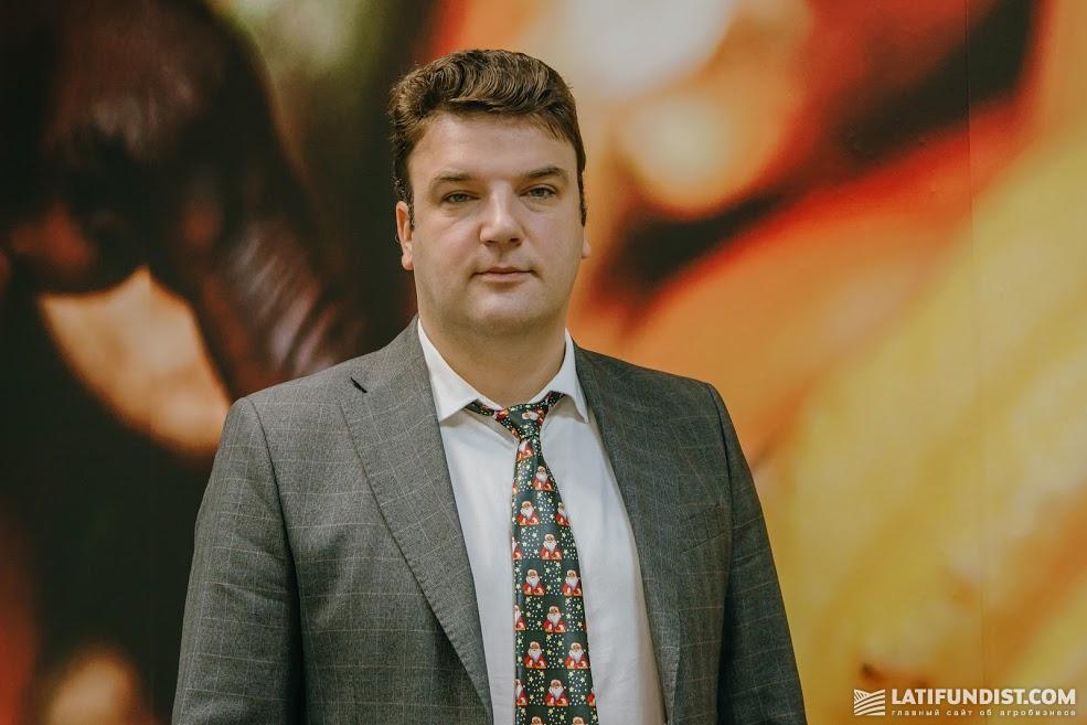 Алексей Пахомов, руководитель зернового направления «Олам Украина»