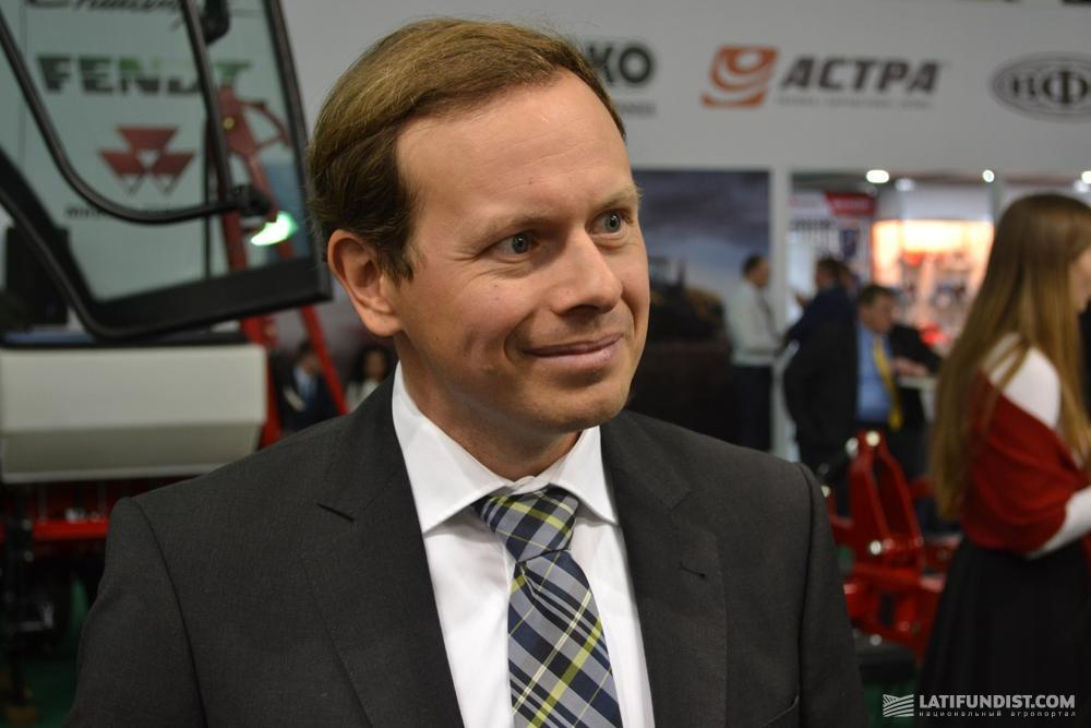 Патрик Прайс, market manager Fendt в шести регионах мира