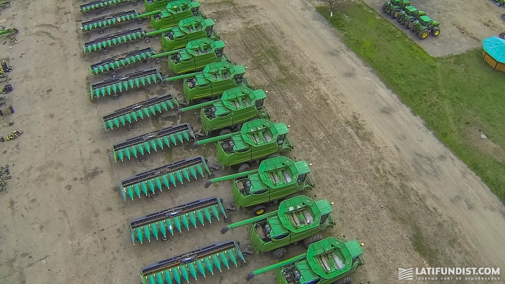 Ukrlandfarming agricultural machinery